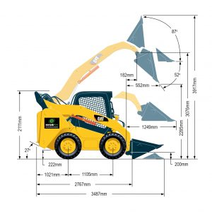 262DHF Series 3 Skid Steer Loader